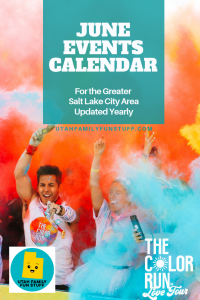 School is out and summer is in! Find out all the fun stuff to do in the Greater Salt Lake City Area. #june #saltlakecity #utah #events