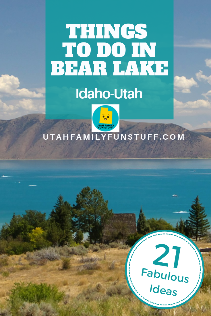 21 Summer Things to Do in Bear Lake Idaho, Utah