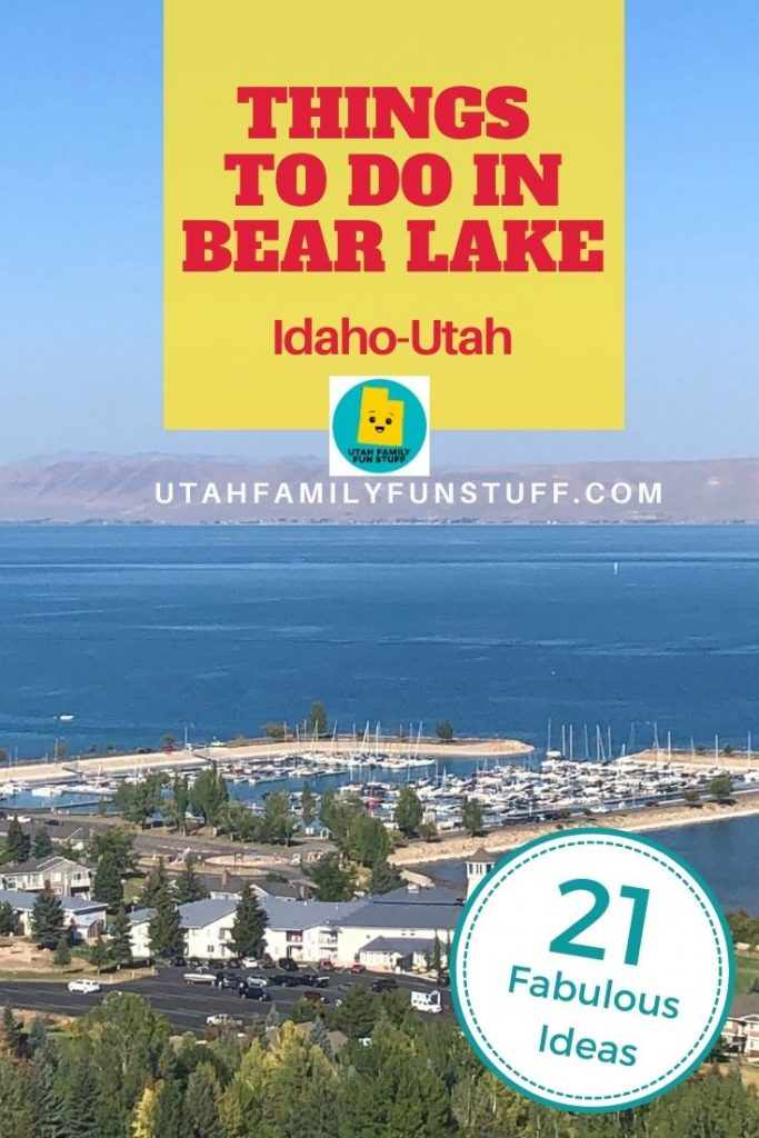 Looking for fun things to do in Bear Lake, Idaho and Utah? We show you 21 things your family will love.