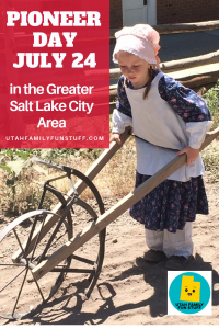 July 24 is Pioneer Day, and there are celebration all along the Wasatch Front. Visit our list to see and join in the fun. #saltlakecity #utah #pioneerday #july24 #pioneer #mormon #lds