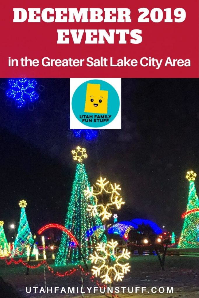 Salt Lake City is perhaps the Christmas Capitol of the USA. See why with this BIG list of events sure to please every family and budget. Calendar updated often. #utah #saltlakecity #christmas #santa #holiday #winter #events #activities