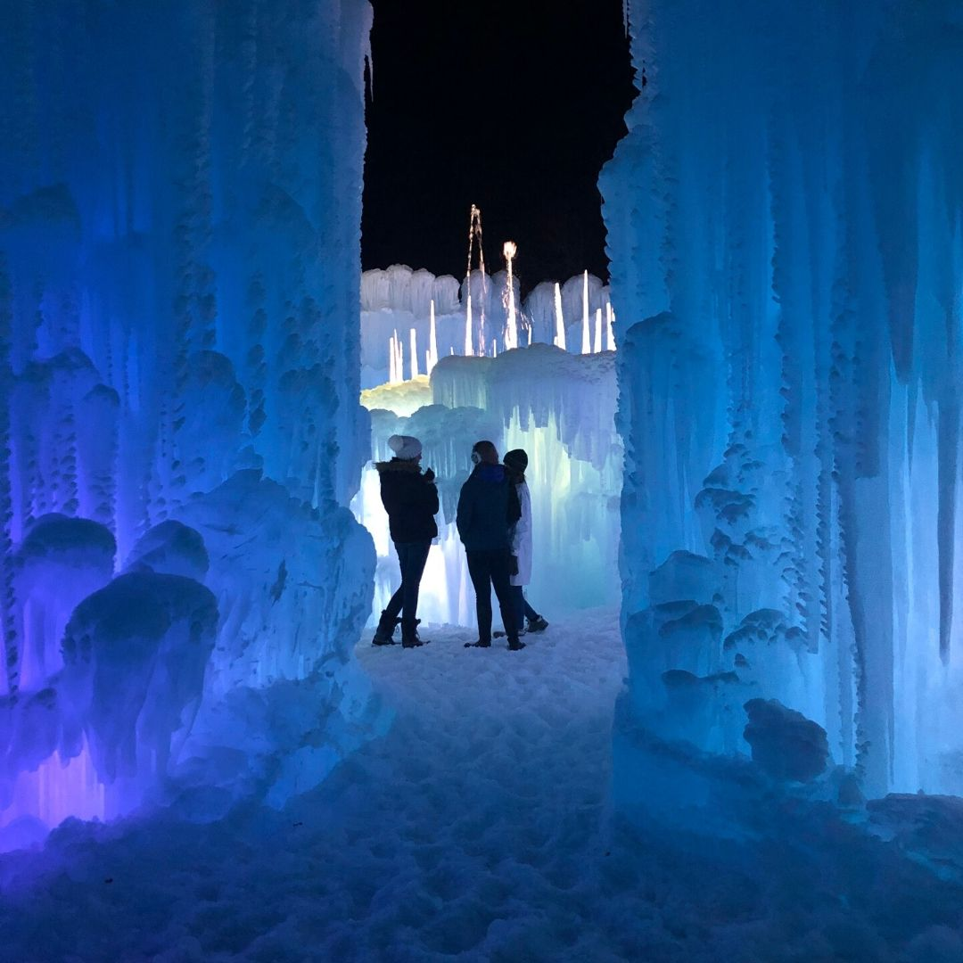 Ice Castles In Midway, Utah, Are A Must See