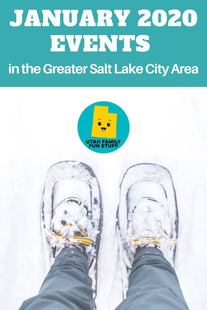 Even though the holidays are over and it's cold outside, there's still plenty of fun events to do in January in the Greater Salt Lake City Area. This BIG list is arranged by county, making it easy for you to find an event near you. #utah #saltlakecity #winter #january #events #calendar #thingstodo