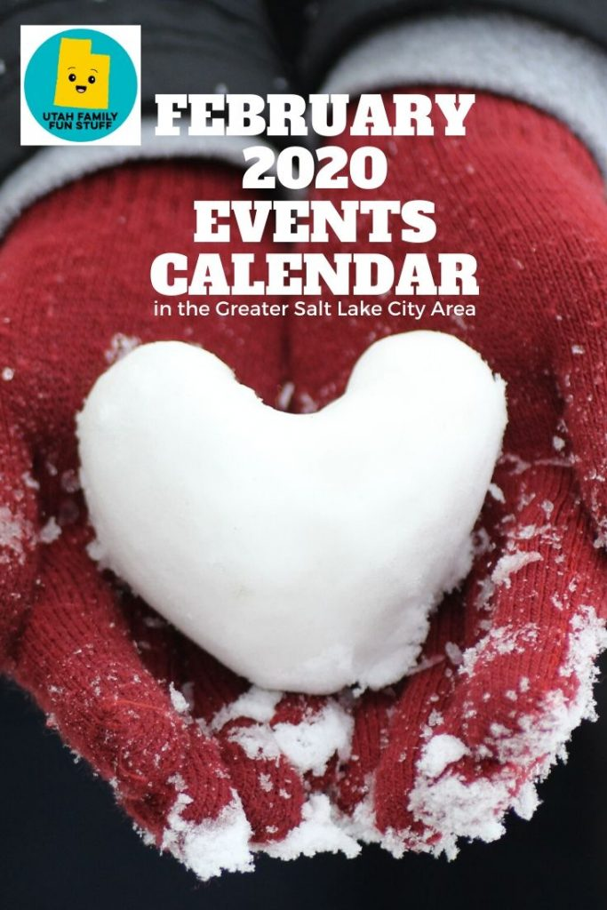 What's there to do in February? In Utah? So much! Check out all these events in the Greater Salt Lake City Area. #utah #saltlakecity #valentinesday #winter #events