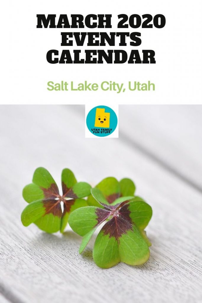 Looking for something fun to do in March? There are plenty of events in the Greater Salt Lake City area. See our online calendar for some great ideas. #utah