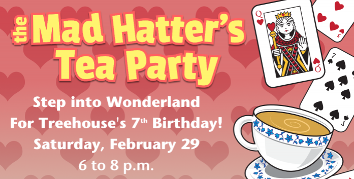 Mad Hatter's Tea Party, Treehouse Museum, Ogden