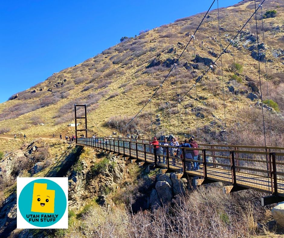 Bear Canyon Suspension Bridge, Draper, Utah