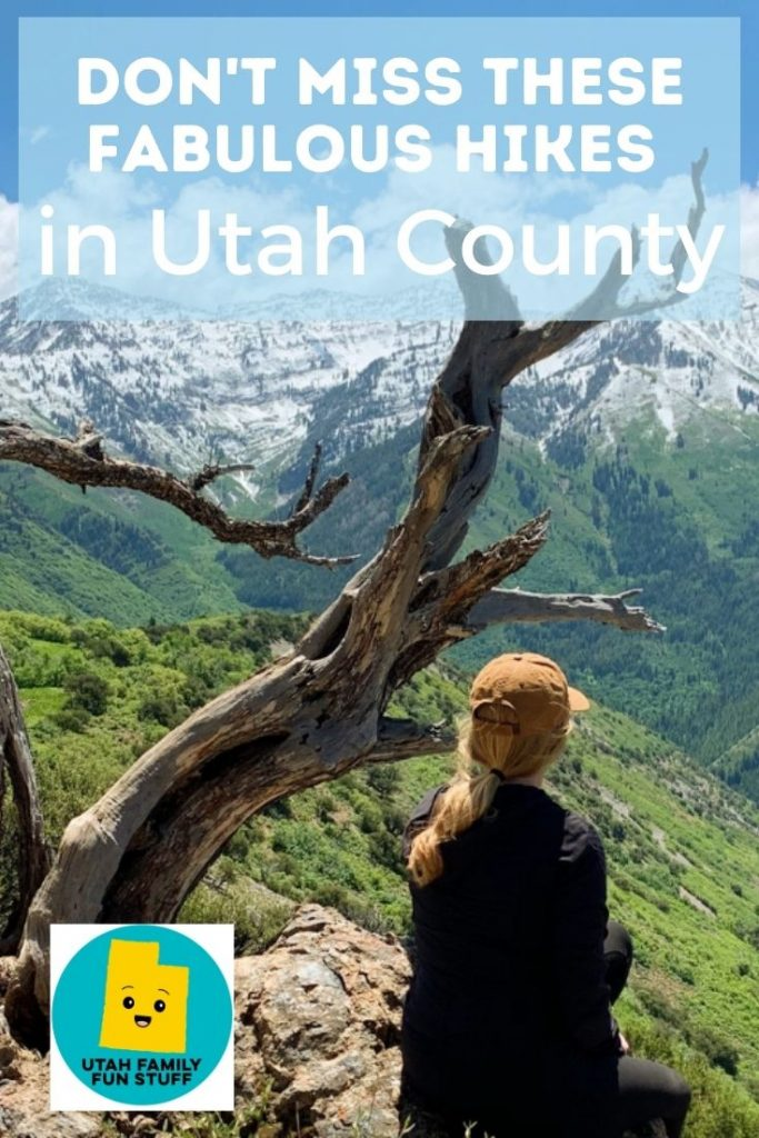 Utah County has gorgeous hiking opportunities! Don't miss these favorites. #utah #hikes #hiking