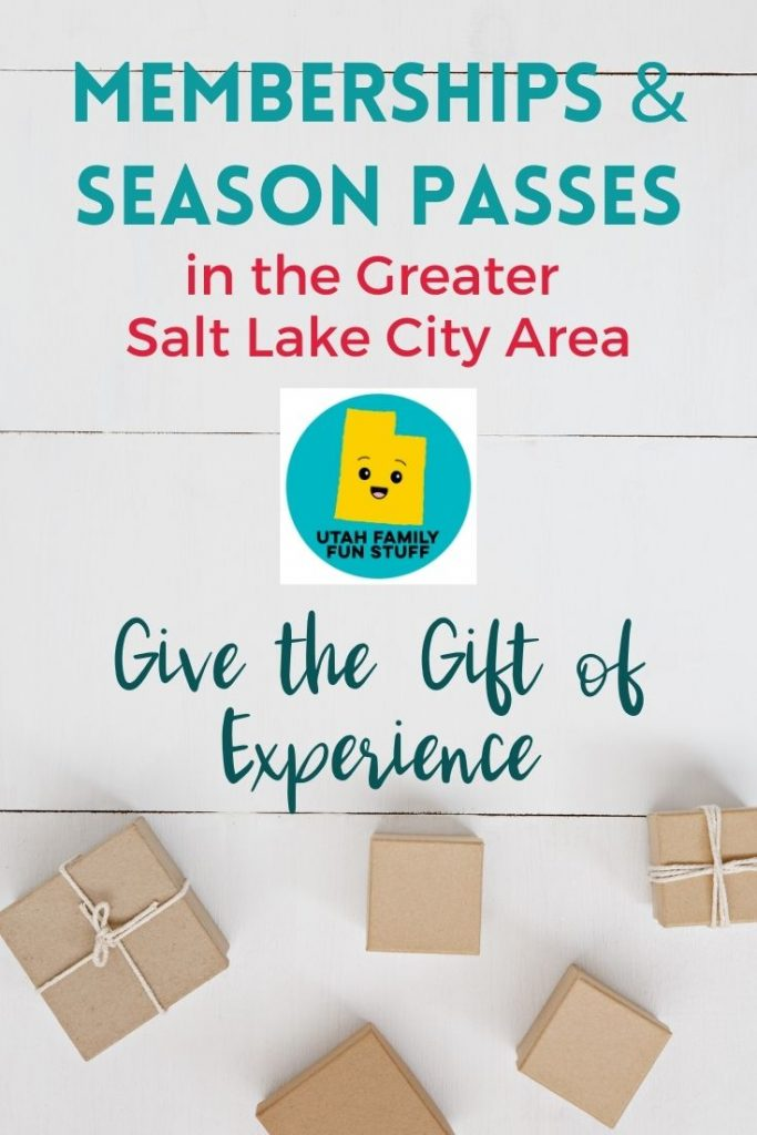 Salt Lake City has so many fun places to explore. Give the gift of membership and season passes this holiday season.