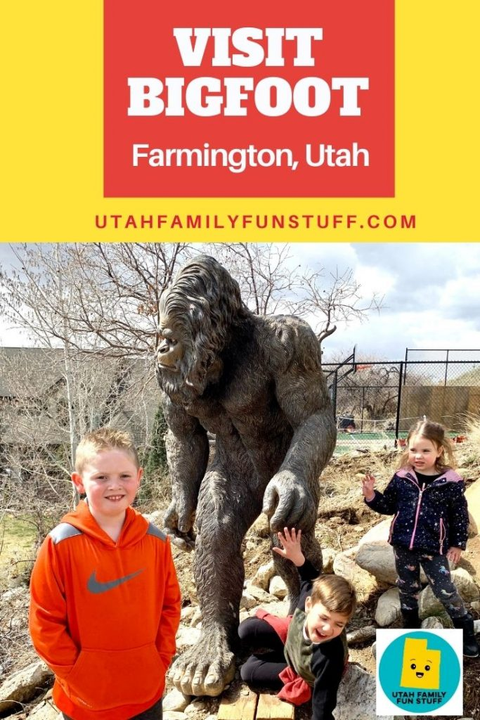 Did you know Bigfoot is in Farmington, Utah? At least his statue is. Let us show you where.